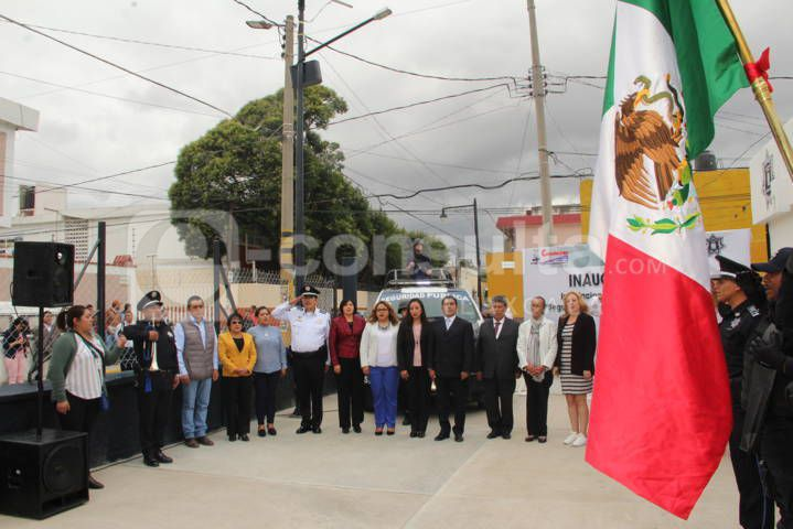Alcalde fortalece el área de seguridad pública con nuevas instalaciones