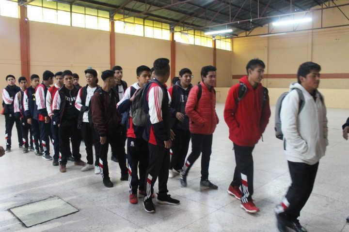 Ayuntamiento de Santa Cruz participa en jornada vivencial con alumnos del Cobat 12