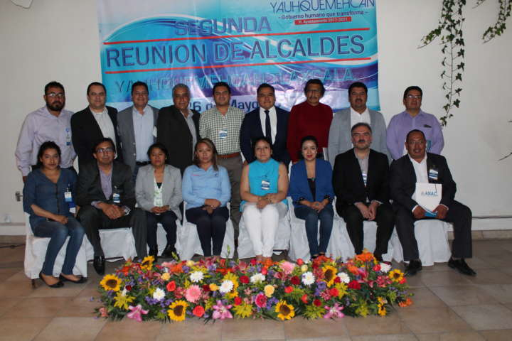 Se llevó a cabo la segunda reunión de alcaldes ANAC Tlaxcala