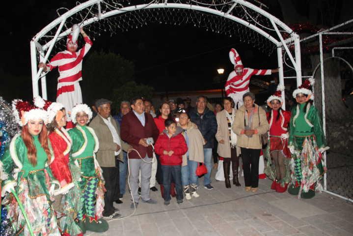 Noches de Magia llegó a impulsar las tradiciones y costumbres de la navidad: alcalde