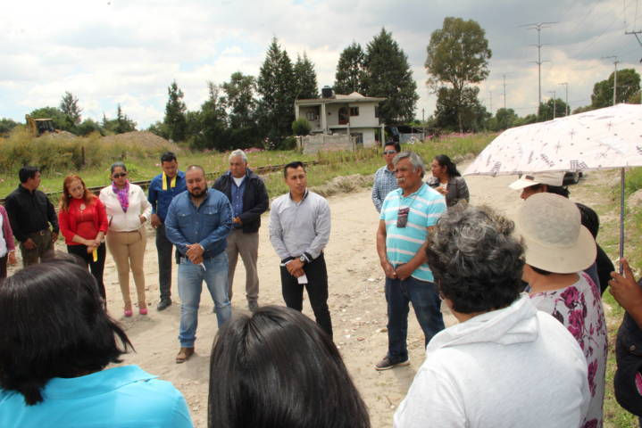 Alcalde disminuye rezago social con obras de impacto