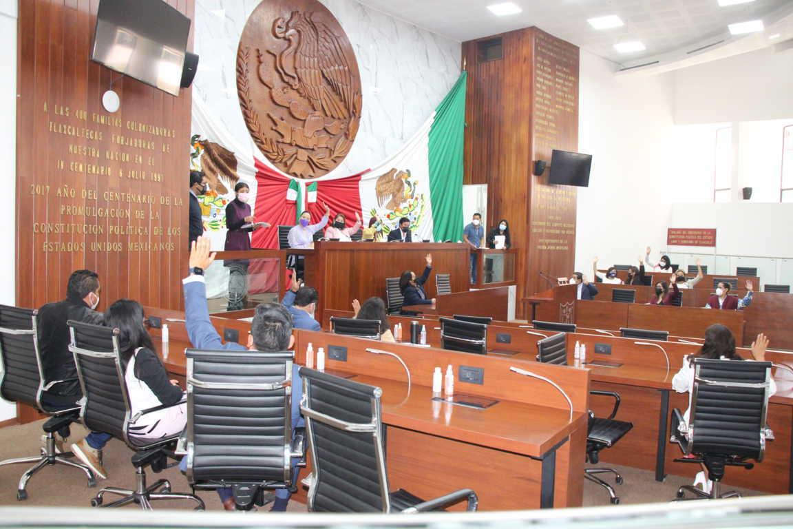 Reestructura Congreso de Tlaxcala comisiones ordinarias