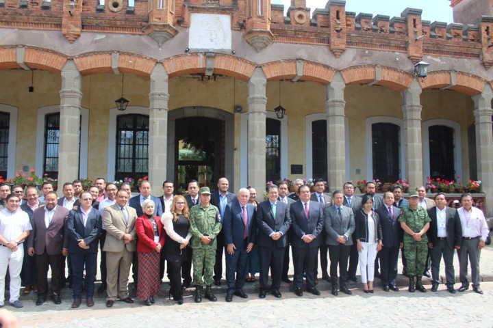 Santa Cruz Tlaxcala participa en cuarta reunión de directores de seguridad municipales