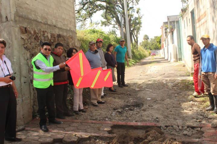 Con obras y acciones disminuimos el rezago social del municipio: Valencia Muñoz