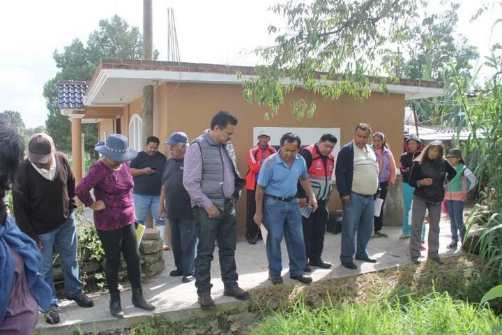 Villarreal Chairez atiende afectados por la granizada atípica