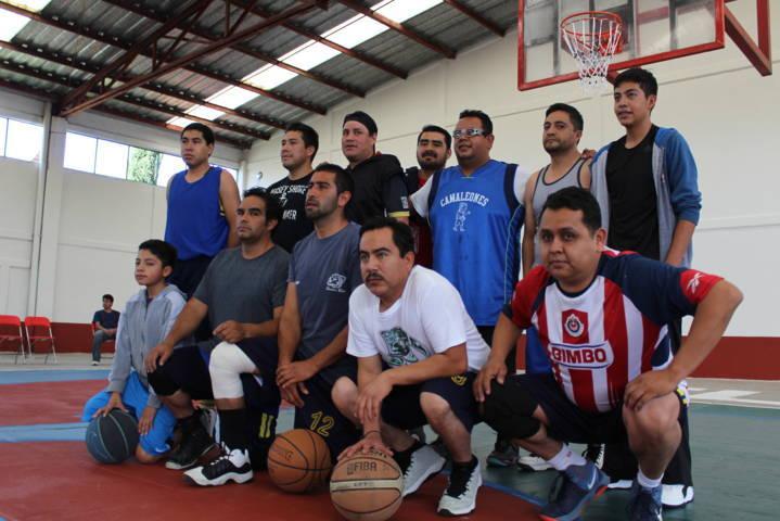 Se realiza Segunda Jornada de la Liga de Basquetbol de Ixtacuixtla 2017