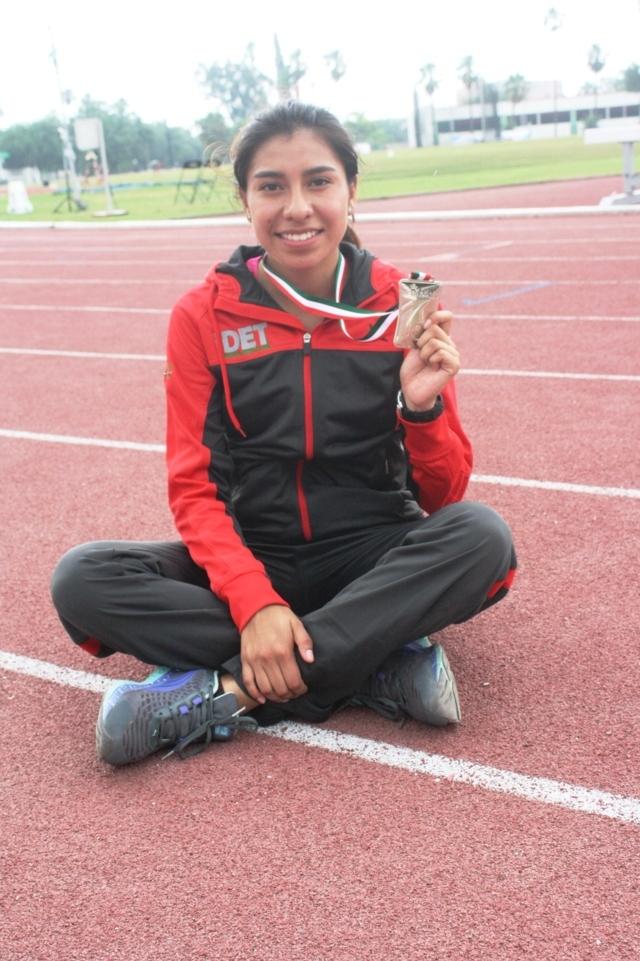 Plata para Tlaxcala con Karina Itzel Hernández López en atletismo de Olimpiada