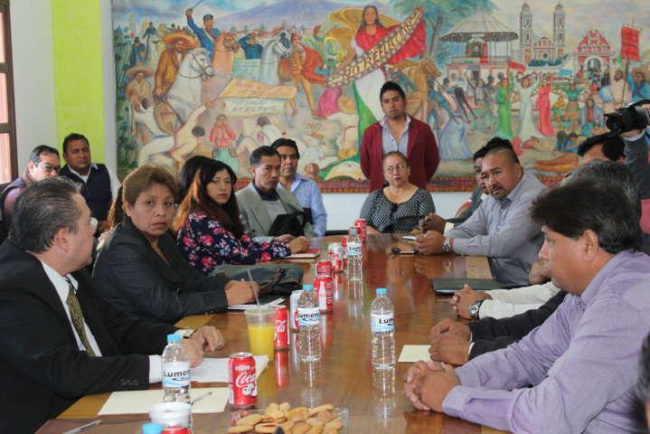 Arranca proceso de entrega recepción en Xicohtzinco