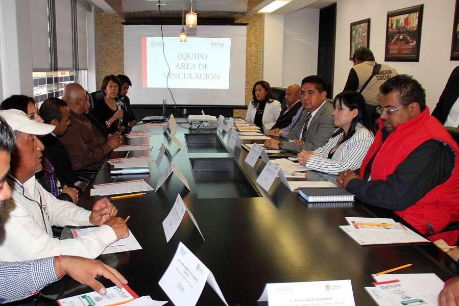 Realizan en Calpulalpan reunión de comité consultivo del ICATLAX