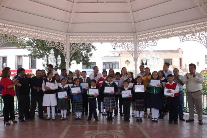 Realizan el primer cabildo infantil en Chiautempan