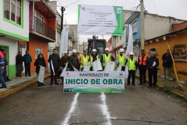 Inicia Héctor Domínguez Rugerio rehabilitación de drenaje en Reforma