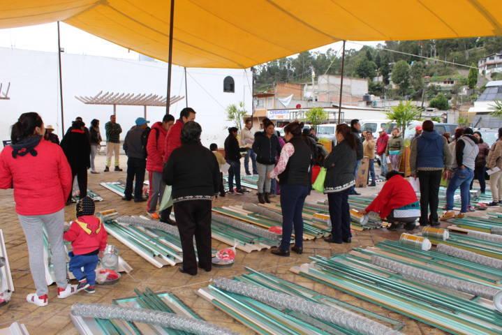 41 familias de Lardizábal se benefician con módulos de autoconsumo