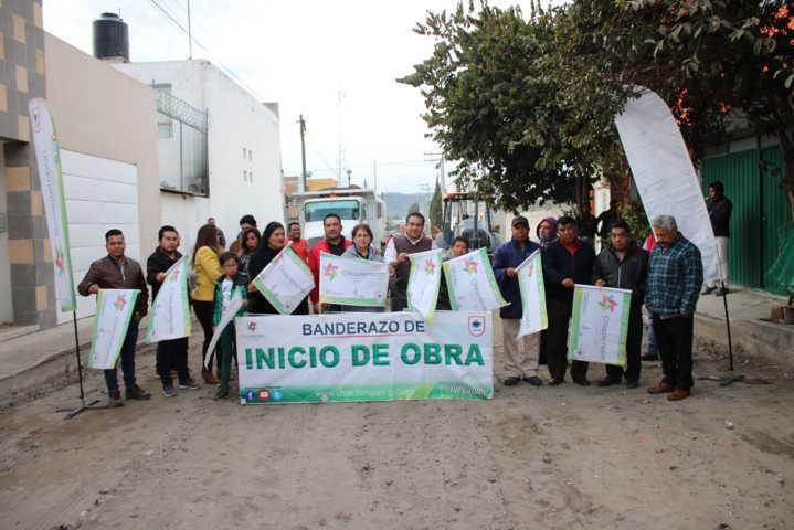 Destina 2 mdp Hector Dominguez para mejorar acceso alterno a Chiautempan