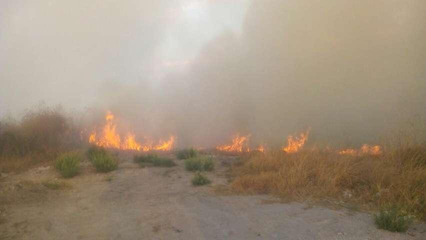Protección Civil de Apizaco sofoca incendio de más de 5 htas