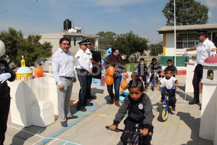 Fomentar la cultura vial en niños hará buenos conductores para el mañana: alcalde