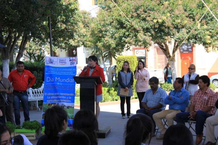 Celebran en Calpulalpan Día Mundial de la Alimentación 2016