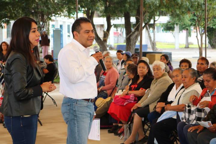 Arrancan Festejos del Adulto Mayor en Santa Ana Chiautempan