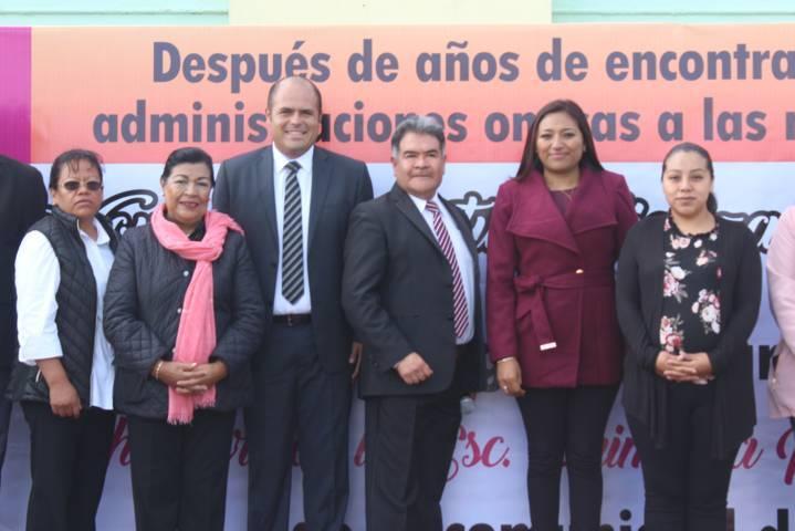 """Sanabria Chávez mejora la infraestructura educativa de la """"Flores Magón"""""""