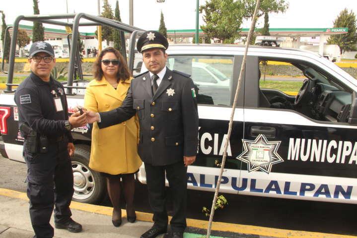 Una policía equipada garantiza la seguridad de los ciudadanos: alcalde