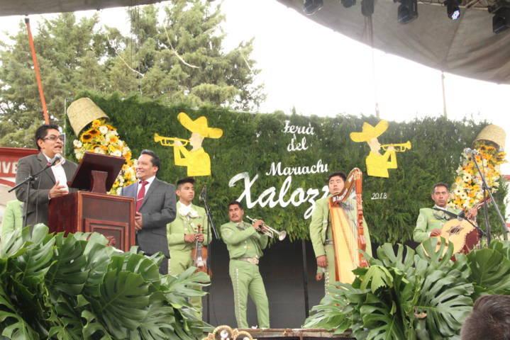"Arrancó la ""Feria del Mariachi Xaloztoc 2018"" con un desfile"