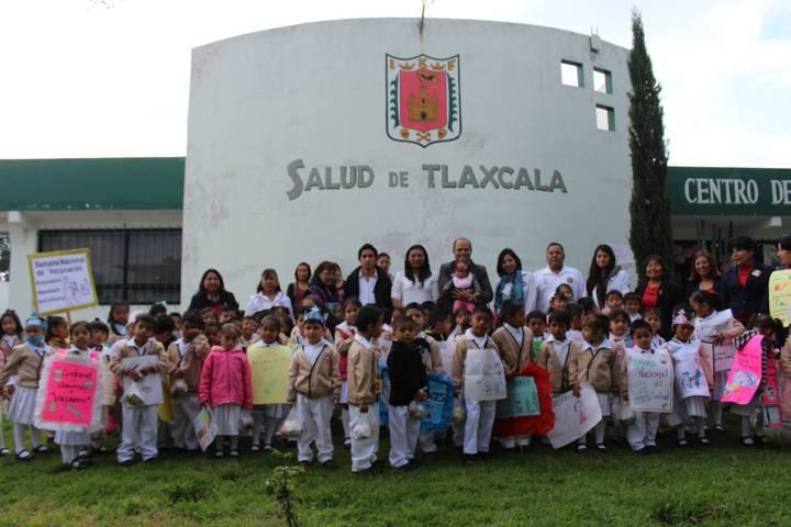 En marcha la Tercera Semana Nacional de Salud en Santa Cruz Tlaxcala