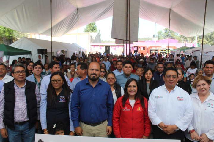 Ruta Por Tu Salud atiende a los habitantes de Santa Cruz Tlaxcala