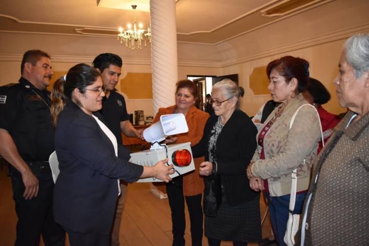Ayuntamiento implementa programa de alarmas vecinales