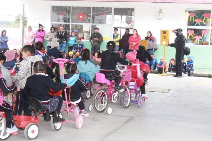 Alcalde fomenta la prevención y la educación vial en escuelas del municipio