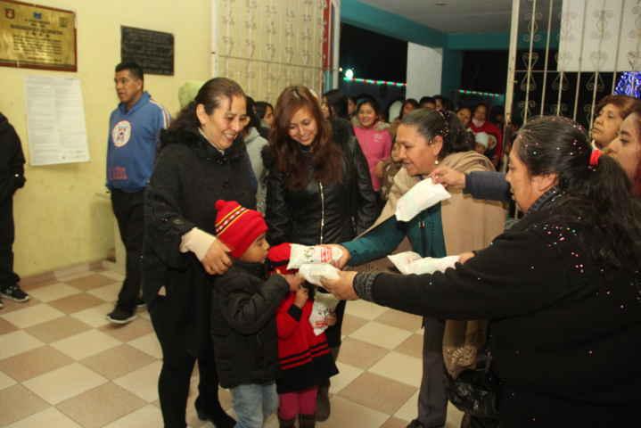 Ayuntamiento y SMDIF realizaron la 1er posada decembrina