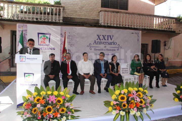 En 24 años Huactzinco está en desarrollo: Valencia Muñoz