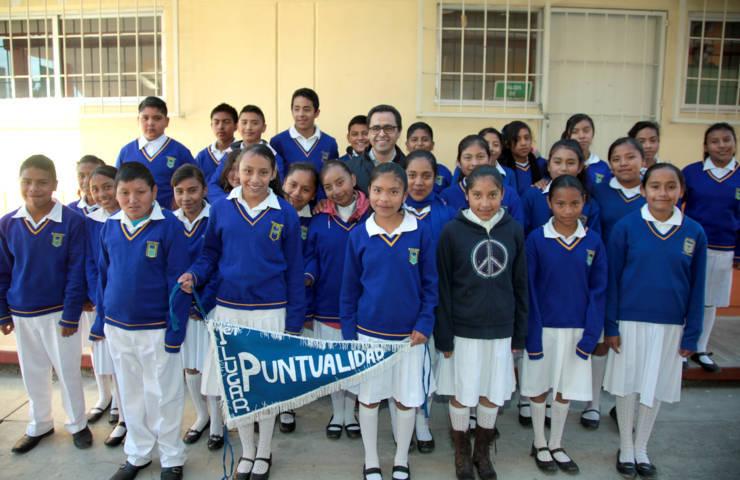 La práctica permanente de valores en escuelas hará mejores ciudadanos: MCH