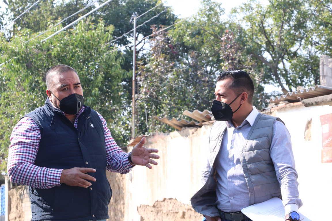 Inicia rehabilitación de drenaje en avenida 20 de noviembre en Xicohtzinco