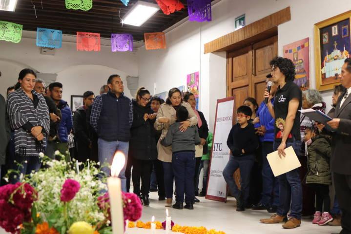Héctor Domínguez Rugerio inauguró el Segundo Festival Entre Vivos Y Muertos