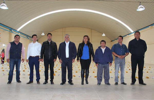 Realiza Ayuntamiento obras en la comunidad de Hermenegildo Galeana
