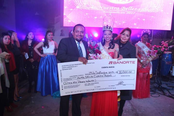 Feria Tetlanohcan Matlalcueyetl 2017 ya tiene reina Alma I