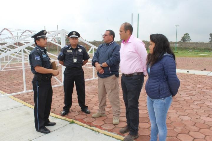 Policías municipales se capacitan en conducción de vehículo oficial