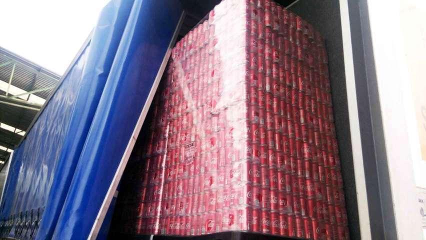 Recupera PGJE en San Pablo del Monte remolques y mercancía robada en Puebla