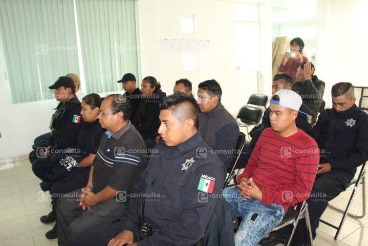 Impulsa alcalde la profesionalización de la policía con el apoyo del ICATLAX