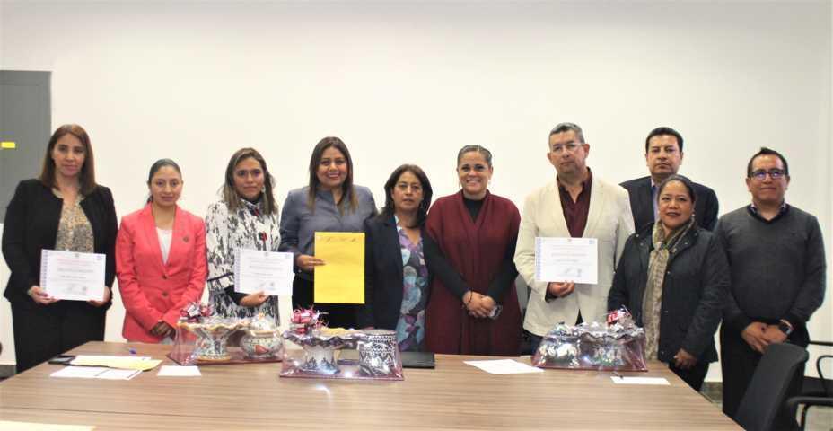Recibe JCCP resultados de evaluación de aspirantes a integrar el consejo general del IAIP