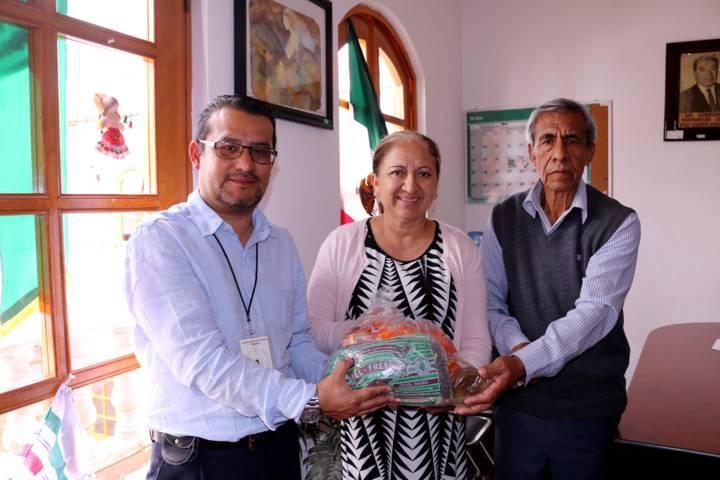 Realiza Ayuntamiento de Texóloc primera entrega de víveres