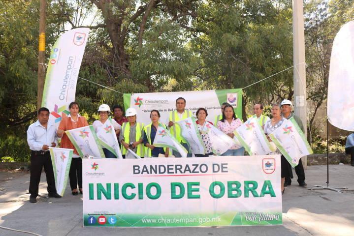 Con tres obras beneficiará Héctor Domínguez Rugerio a más de 550 chiautempenses