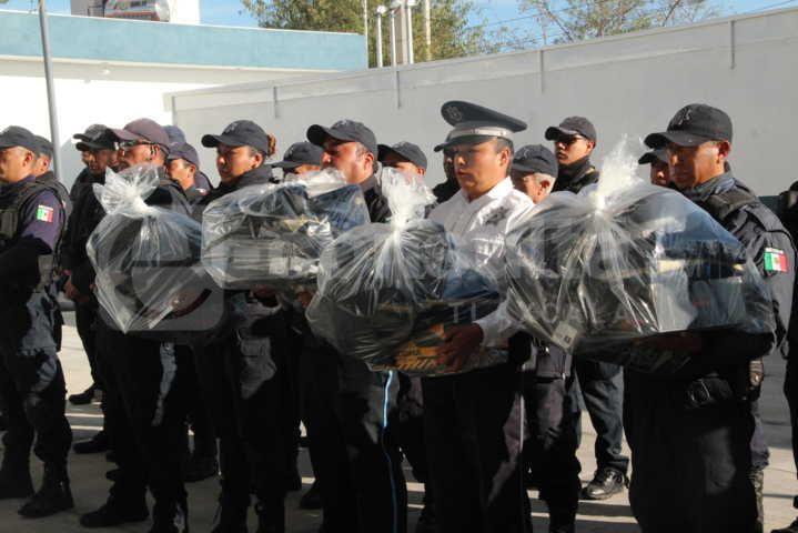 Alcalde refuerza la seguridad del municipio con casi 8 mdp del Fortamun