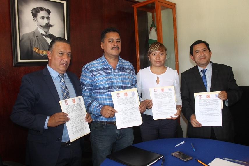 Ayuntamiento apoyara a estudiantes de la UAT en su servicio social