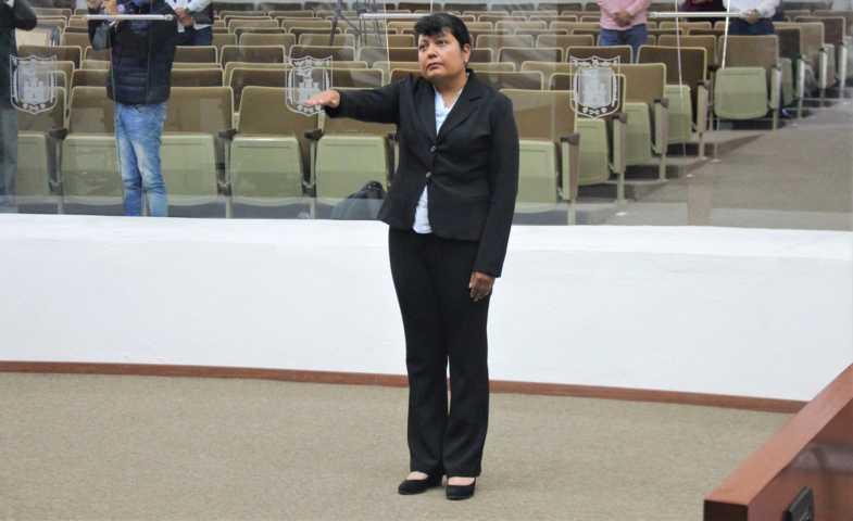 Designa Congreso a maribel rodríguez piedras, comisionada propietaria del IAIP