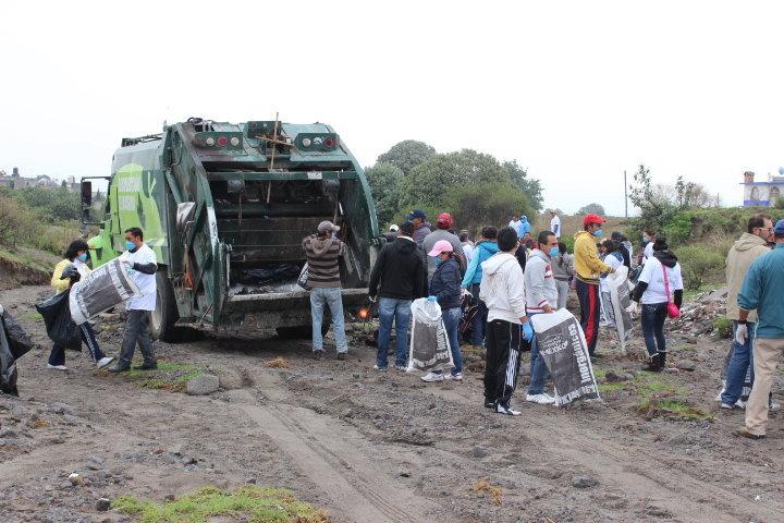 El H. Ayuntamiento de Huamantla trabaja para un manejo adecuado de los residuos solidos urbanos