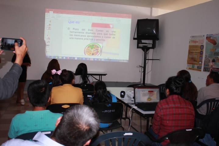 Una población estudiantil bien alimentada mejora su calidad: Patricia Pérez