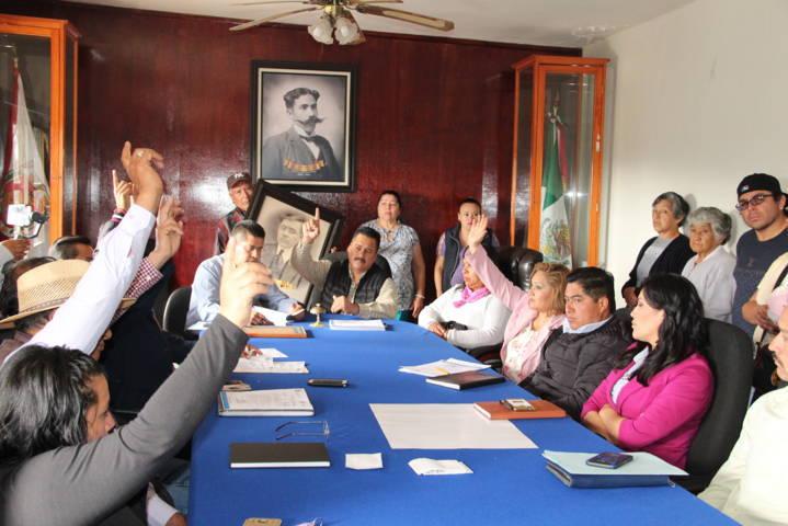 En cabildo constituyen conmemorar cada 1 de febrero a don Antonino Juncos