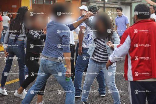 Alcalde teibolero auspició pelea campal en Carnaval