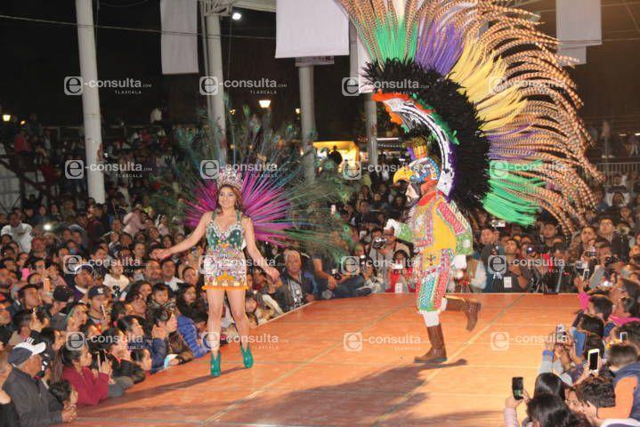 El Carnaval Yauhquemehcan 2019 arranco con una espectacular pasarela de reinas