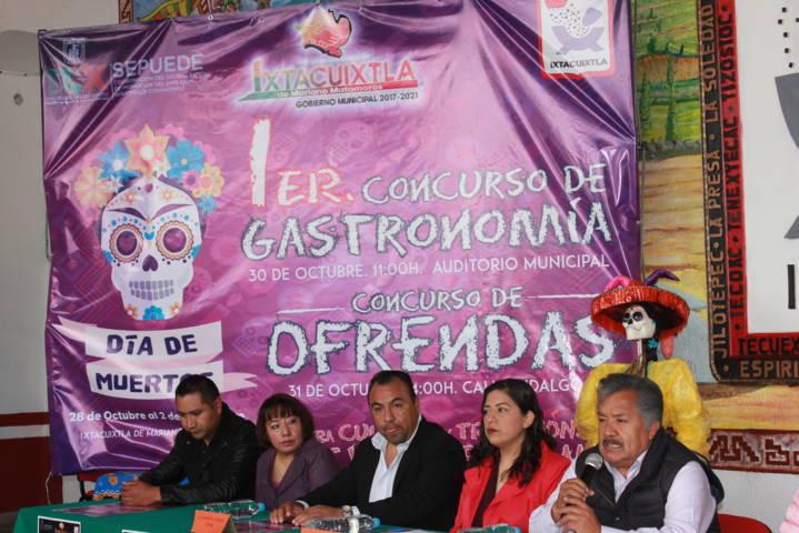 Alcalde alista 1er concurso de Gastronomía y ofrendas para el Día de Muertos